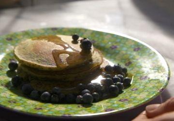 Pancakes de quinoa au citron et pavot