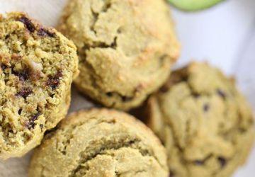 Muffins santé avocat-chocolat