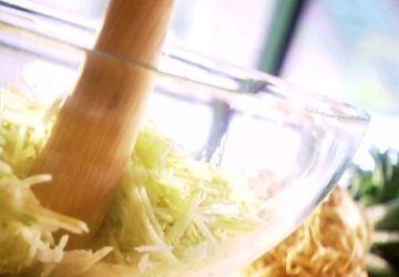 Salade de fenouil et de céleri-rave à la pomme verte