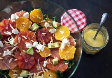 Salade de kale et d'agrumes