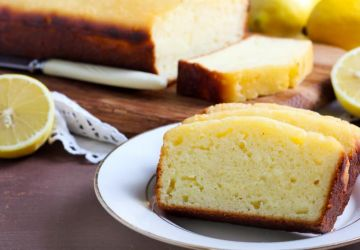 Gâteau aux deux citrons