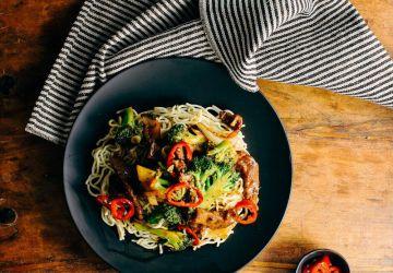 Sauté boeuf et brocoli