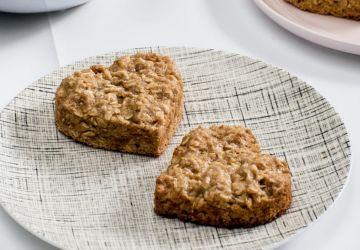 Biscuits rapides à l'avoine et aux bananes