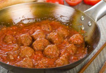 Albondigas porc et boeuf à la sauce tomate