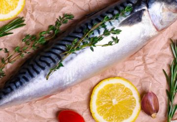 Maquereau farci au fenouil et aux anchois
