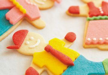 Biscuits poupées à habiller