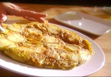 Omelette espagnole (Piperade basque)