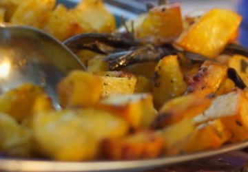Pommes de terre rôties à la toscane
