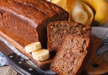 Gâteau grillé à la banane