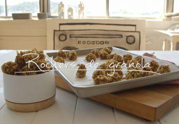 Rochers de granola