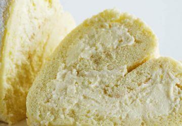 Roulade à la mousse au citron