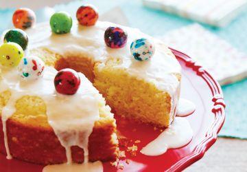 Gâteau à la «gomme balloune»