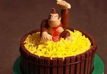 Gâteau aux bananes Donkey Kong