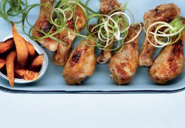 Pilons de poulet à l'ananas asiatiques