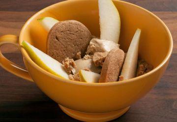 Biscuits pain d'épices et glace au café