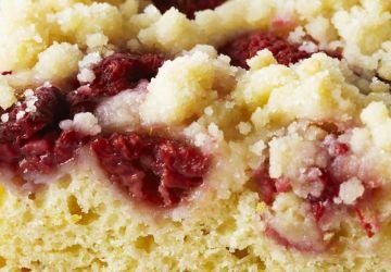 Gâteau à la framboise et à la ricotta