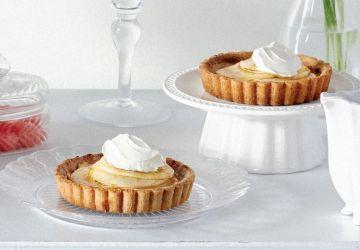 Tartelettes aux pommes à la française, sans farine