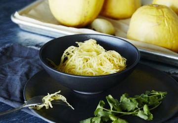Courges spaghetti au four