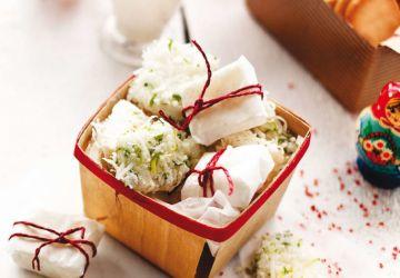 Guimauves lime et noix de coco