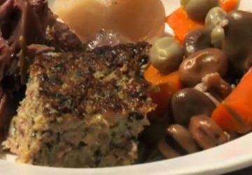 Soupe aux confits de canard et aux fèves