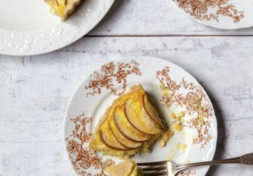 Tarte aux poireaux & croûte au parmesan