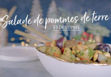 Salade de pommes de terre et de lupins