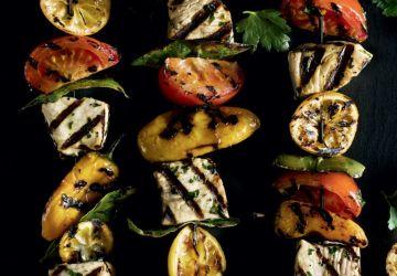 Kebabs d'espadon Pandeli