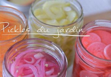 Pickles du jardin