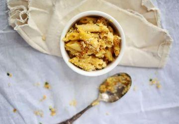 Macaroni au fromage et à la courge musquée (butternut)