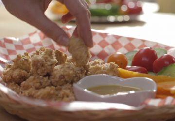 Poulet pop corn