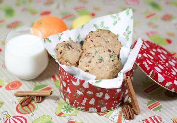 Biscuits de Noël style gâteau aux fruits