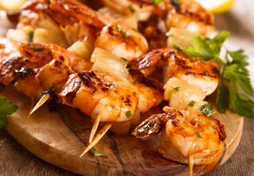 Crevettes à la noix de coco