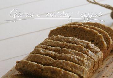 Gâteau sticky toffee