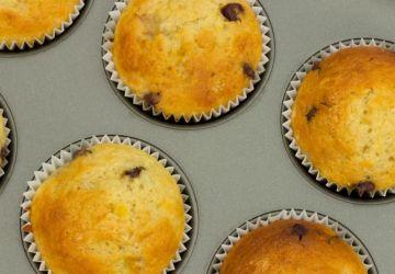 Muffins bananes-chocolat