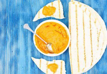 Tartinade de courgettes au curry