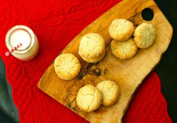 Biscuits aux amandes et tahini