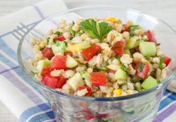 Salade thaïe à l'orge et aux edamames