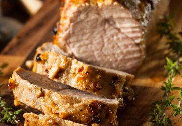Filet de porc sur le BBQ