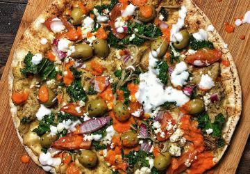 Pit-za aux légumes