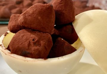 Truffes maison au chocolat et Grand Marnier