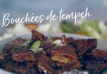 Bouchées de tempeh pour l'apéro