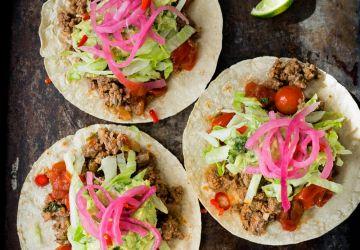 Tacos de boeuf maison
