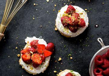 Shortcakes aux fraises et framboises