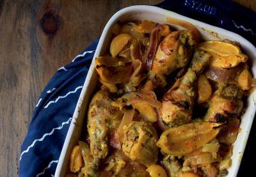 Pilons de poulet abricots et citron