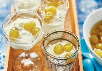 Raisins frais au sirop