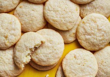 Biscuits tendres au citron