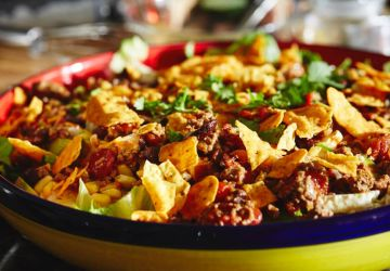 Salade mexicaine au chili