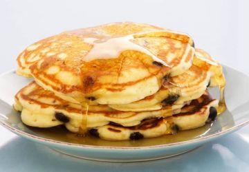 Pancakes aux bleuets