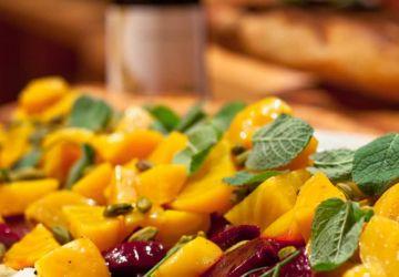 Salade chaude d'automne à la marjolaine