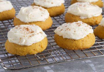 Gâteaux-biscuits aux épices et à la citrouille